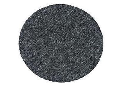 Obrázok pre výrobcu Leštiaca plsť so suchým zipsom tvrdá 130x5 mm Metabo 631242000