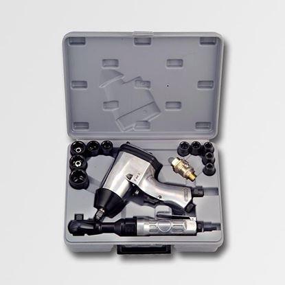 Obrázok pre výrobcu Pneumatický rázový skrutkovač 310 Nm 17 dielny Jobi XT1005