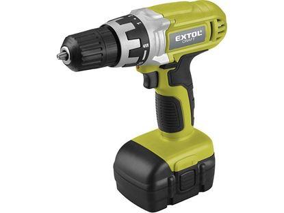 Obrázok pre výrobcu Extol Craft 402313 Aku. skrutkovač 14,4 V