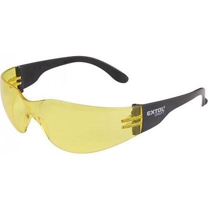 Obrázok pre výrobcu Ochranné žlté okuliare Extol 97323
