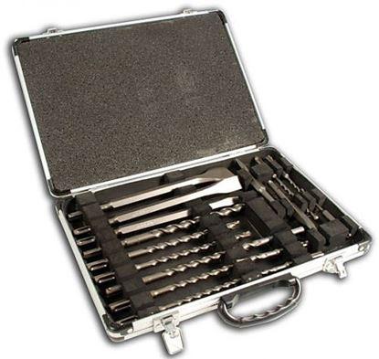 Obrázok pre výrobcu Makita D-21200 Sada vrtákov a sekáčov SDS-plus 17 dielna