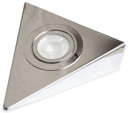 Obrázok pre výrobcu Bodové trojuholníkové svetlo chróm Dopredaj!