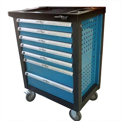 Obrázok pre výrobcu KrafTWelle KW-01 Montážny dielenský vozík s náradím
