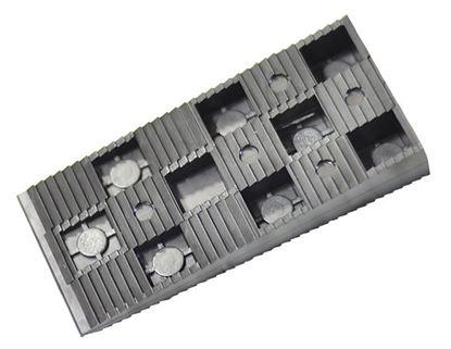 Obrázok pre výrobcu Plastový klinok pod okná čierny