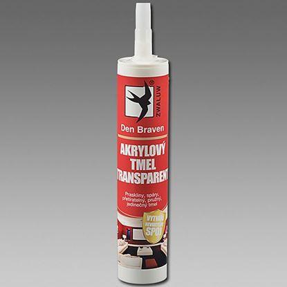 Obrázok pre výrobcu Akrylový tmel transparent 310 ml Den Braven 20101RL