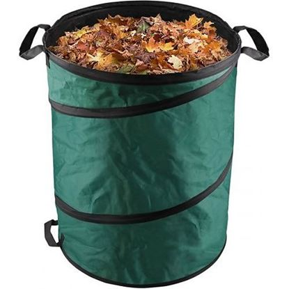 Obrázok pre výrobcu Kôš na lístie a záhradný odpad Extol  170l 92900