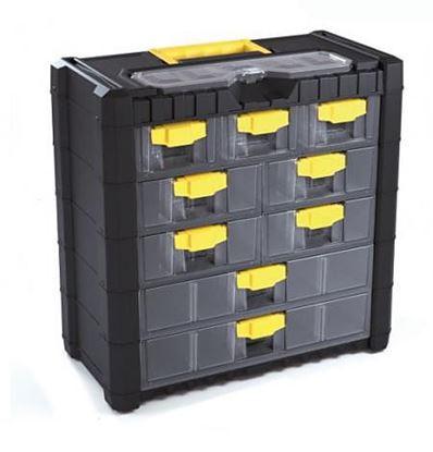 Obrázok pre výrobcu PROMA plastový 9 zásuvkový organizér, KO-16BY (06090015)