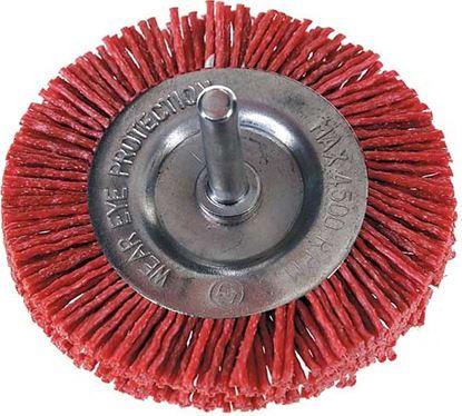 Obrázok pre výrobcu Okružný kartáč z nylónu so stopkou