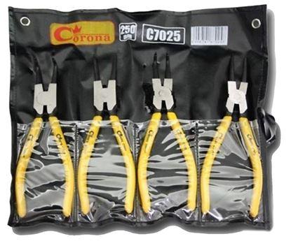 Obrázok pre výrobcu Sada segerových klieští 250 mm 4dl. Corona 7025