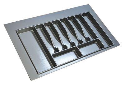 Obrázok pre výrobcu Príborník STARAX sivý