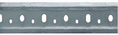 Obrázok pre výrobcu Závesná lišta na rektifikačné kovanie 2m pozinkovaná