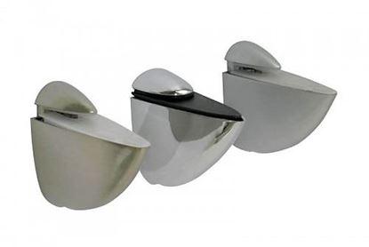Obrázok pre výrobcu Podperka na sklenenú policu Pelikán 75 mm stredná