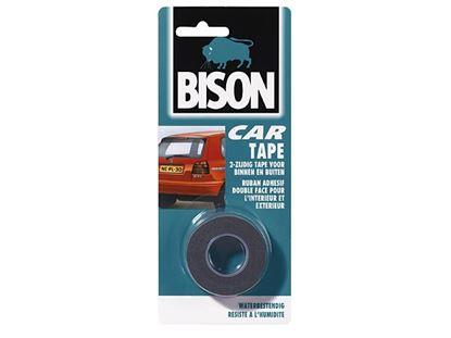 Obrázok pre výrobcu Obojstranná samolepiaca páska CAR TAPE BISON 19 x 1,5 mm 05461