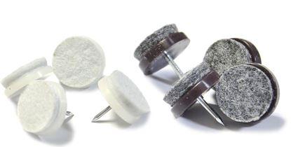 Obrázok pre výrobcu Filc pod nábytok s klincom