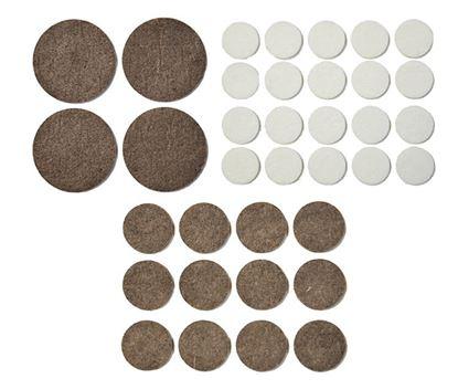 Obrázok pre výrobcu Filc pod nábytok kruhový