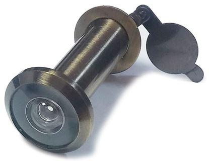 Obrázok pre výrobcu Kukátko bronzové 200° 40-65 mm bez podložiek 3009