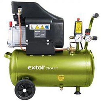 Obrázok pre výrobcu Olejový kompresor Extol 1500 W 24L 418200
