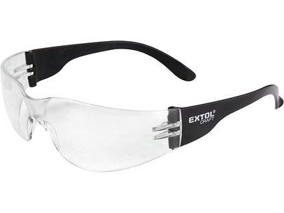 Obrázok pre výrobcu Ochranné okuliare číre Extol 97321