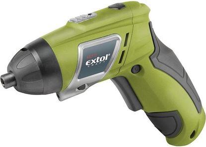 Obrázok pre výrobcu Extol 402112 Aku. skrutkovač s nadstavcami 3,6 V Li-Ion