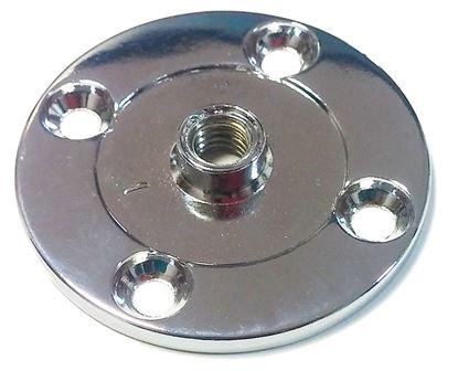 Obrázok pre výrobcu Rozeta chrómová na rôzne použitie TS 13 56*3 M8