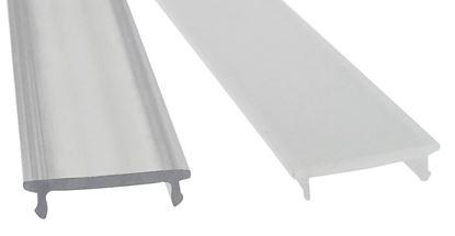 Obrázok pre výrobcu Krycia lišta na led KLIK zacvakávacia