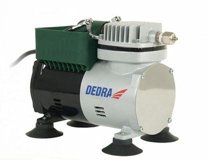 Obrázok pre výrobcu Sada na maľovanie s mini kompresorom DEDRA 7470