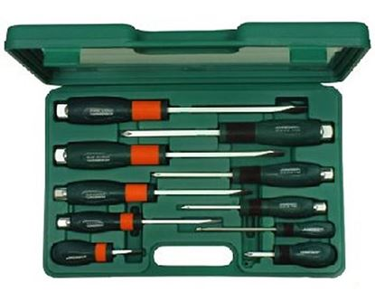 Obrázok pre výrobcu Sada skrutkovačov s úderným koncom 10.diel. JONN D70PP10S