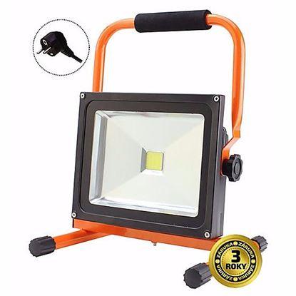 Obrázok pre výrobcu Solight LED vonkajší reflektor so stojanom 30W/2400lm 230V WM-30W-ES