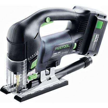 Obrázok pre výrobcu Festool CARVEX PSBC 420 EB Li 18-Set Priamočiara píla 561743