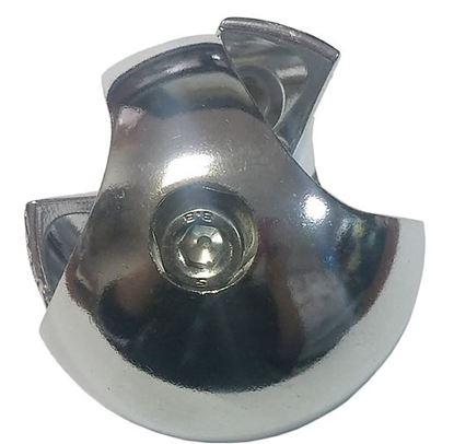 Obrázok pre výrobcu Spojovacia guľa na rúru 25mm dvojitá