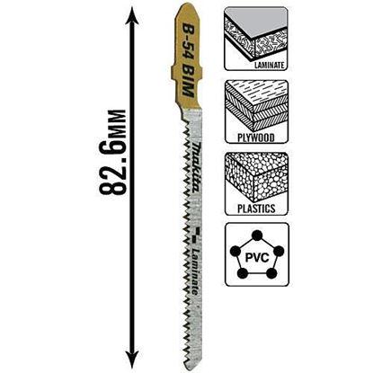 Obrázok pre výrobcu Pílka do priamočiarej píly  Makita B-54 B-10986