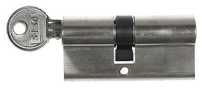 Obrázok pre výrobcu Obyčajná cylindrická vložka chróm 3kl