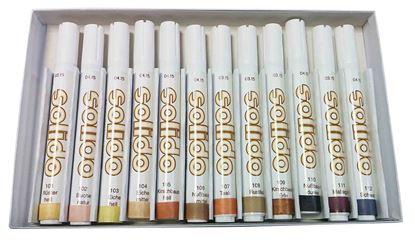 Obrázok pre výrobcu Sada retušovacích ceruzí SET 12 SOLIDO