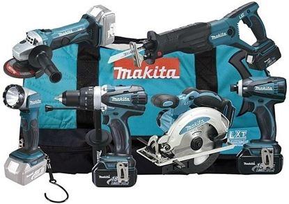 Obrázok pre výrobcu Sada akumulátorového náradia Makita DLX6011