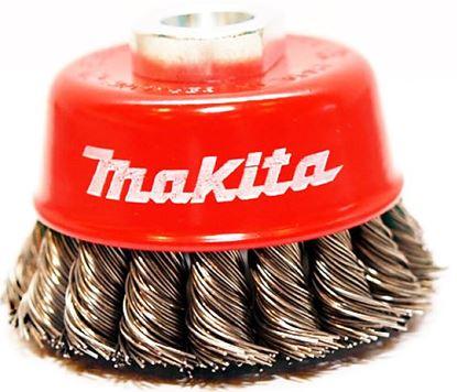 Obrázok pre výrobcu Misková kefa z oceľového drôtu - spletaný drôt M14