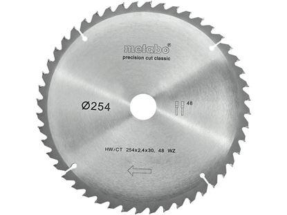 Obrázok pre výrobcu Pílový kotúč Metabo 254 x 30 48WZ zubov 628061