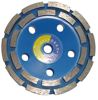 Obrázok pre výrobcu Brúsny diamantový kotúč 125 mm GEKO G00376