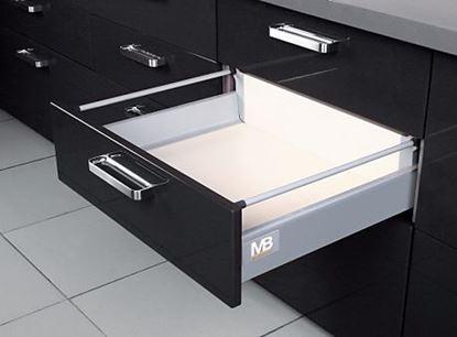 Obrázok pre výrobcu MODERNBOX stredná zásuvka sivá
