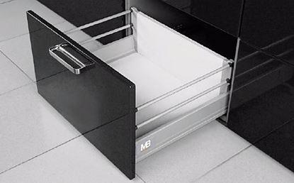 Obrázok pre výrobcu MODERNBOX vysoká zásuvka 1 réling