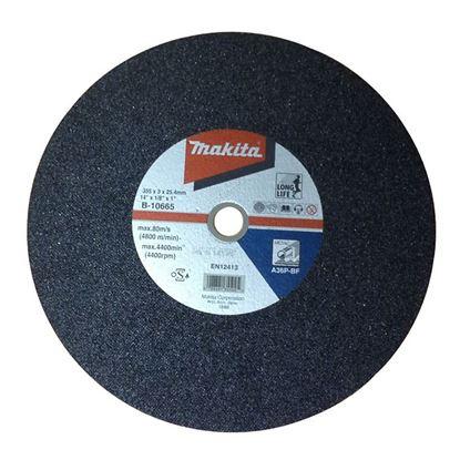 Obrázok pre výrobcu Rezný kotúč Makita 355 x 3 x 25,4 kov B-10665