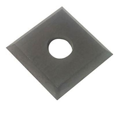 Obrázok pre výrobcu Štandardná HM žiletka N012-xxxxx 12 x 12 x 1,5 mm 1 upínací otvor 4 brity
