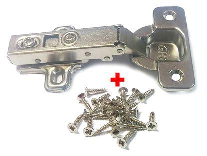 Obrázok pre výrobcu 100x naložený záves GH-Pro s tlmením 35mm + Häfele skrutka 3,5x17 mm (1000 ks)