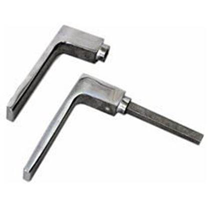 Obrázok pre výrobcu Klasická hliníková kľučka AL 26090 pár