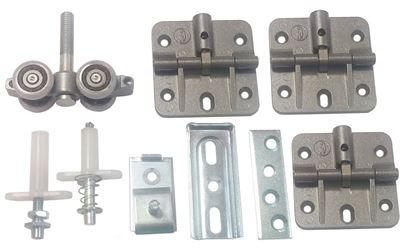 Obrázok pre výrobcu Sada kovania Laguna STANFOLD 40 kg LUX