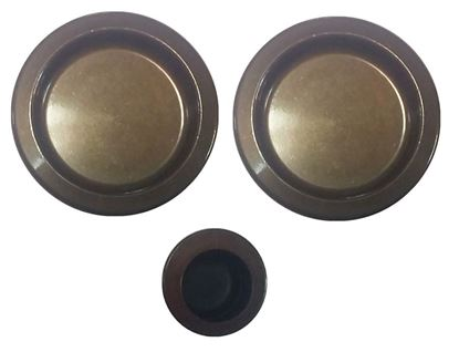 Obrázok pre výrobcu Sada na posuvné dvere AGB KIT 1920.00.02 bronz