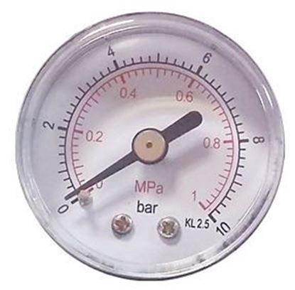 Obrázok pre výrobcu Manometer 40 mm 0-10 bar 1/8 MZ01-14