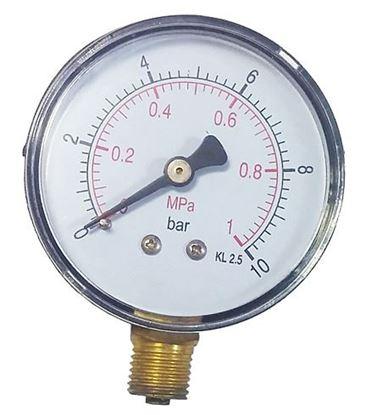 Obrázok pre výrobcu Manometer 63 mm 0-10 bar 1/4 MS04-14