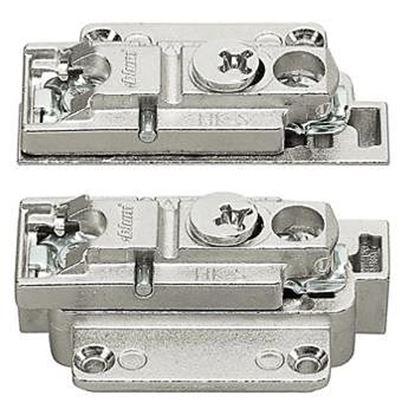 Obrázok pre výrobcu Súprava na upevnenie čela pre úzke hliníkové rámy Blum HK-S 20K4A00A