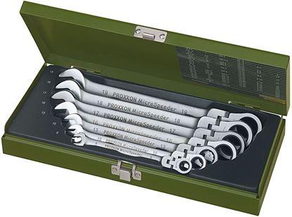 Obrázok pre výrobcu Sada račňových kľúčov s kĺbom Proxxon 7dl. 23068