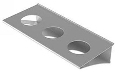 Obrázok pre výrobcu Držiak pohárov 303 mm s 3 otvormi Zobal 03203405